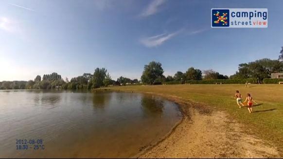 Camping du Lac des Varennes Marçon Pays de la Loire France Audio