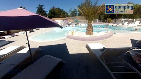 Flower Camping Neptune Agde Languedoc-Roussillon France Audio