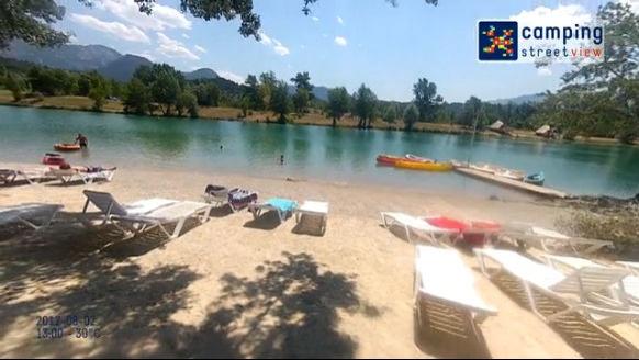 Camping du Lac Bleu Châtillon en Diois Rhône-Alpes France