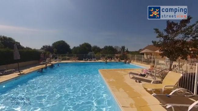 Camping L'Arada Parc Sonzay Centre France