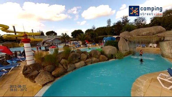 Camping L'ATLANTIQUE Fouesnant Brittany France