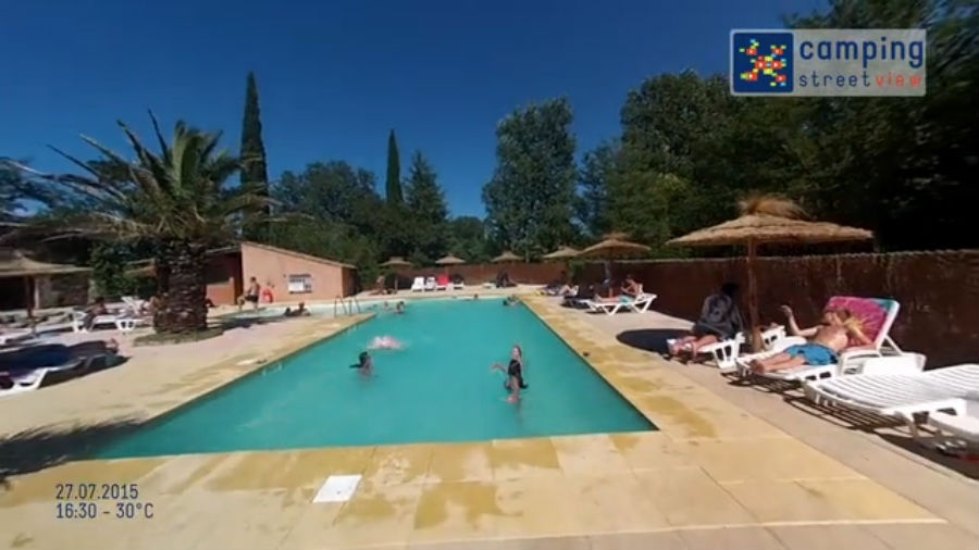Camping-Universal Rochegude Languedoc-Roussillon FR