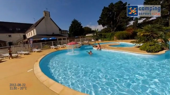 Camping Kost-Ar-Moor Fouesnant Brittany France