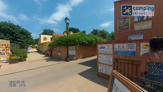 Videos Campsites Languedoc Roussillon  Camping Street View