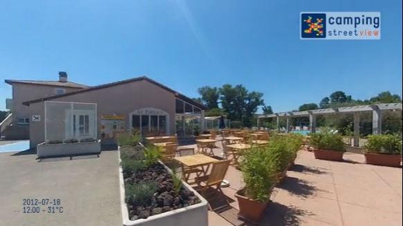 Campéole Ile des Papes VILLENEUVE LEZ AVIGNON Languedoc-Roussillon France