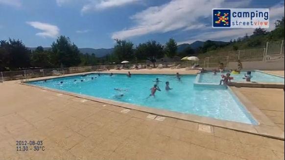 Camping Les Tuillères Vercheny Rhône-Alpes France