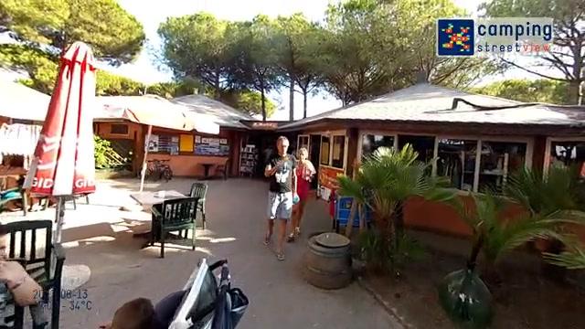 Camping Il Gabbiano Village Albínia Tuscany Italy