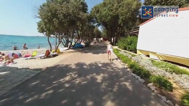 Camping-Strasko Novalja Istrië HR