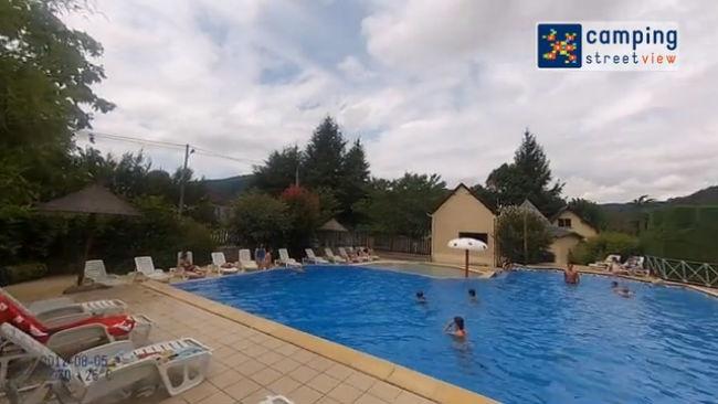 Camping Au Soleil d'Oc Argentat sur Dordogne Limousin France