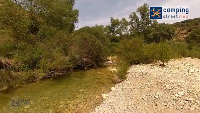 Camping Rio Vero Alquézar Aragón Spain